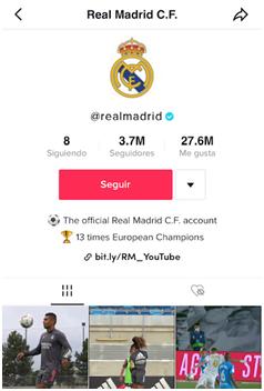 Instagram Real Madrid