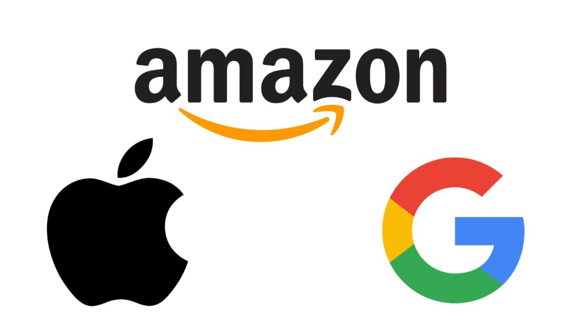 Amazon-Apple-Google