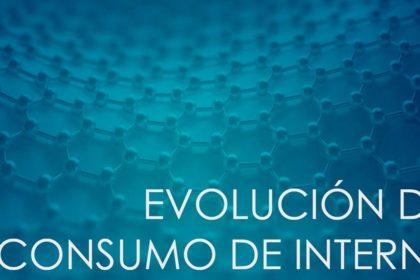 Evolución del consumo de Internet