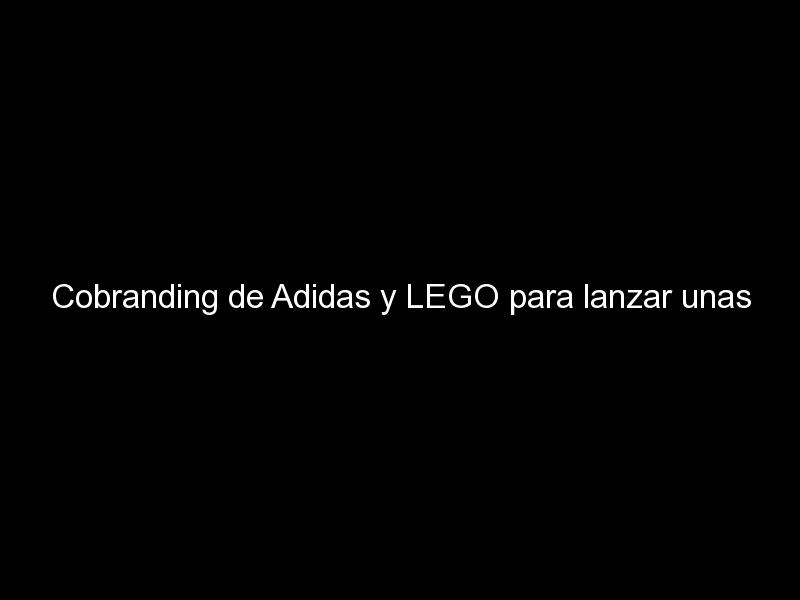 cobranding de adidas y lego para lanzar unas nuevas zapatillas 619 - Cobranding de Adidas y LEGO para lanzar unas nuevas zapatillas
