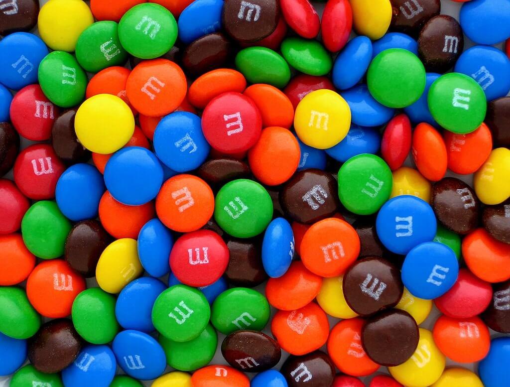 colores M&M