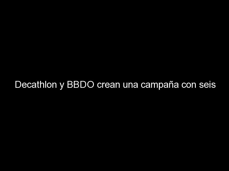 decathlon y bbdo crean una campana con seis presos para mostrar los beneficios del deporte 1066 - Decathlon y BBDO crean una campaña con seis presos para mostrar los beneficios del deporte